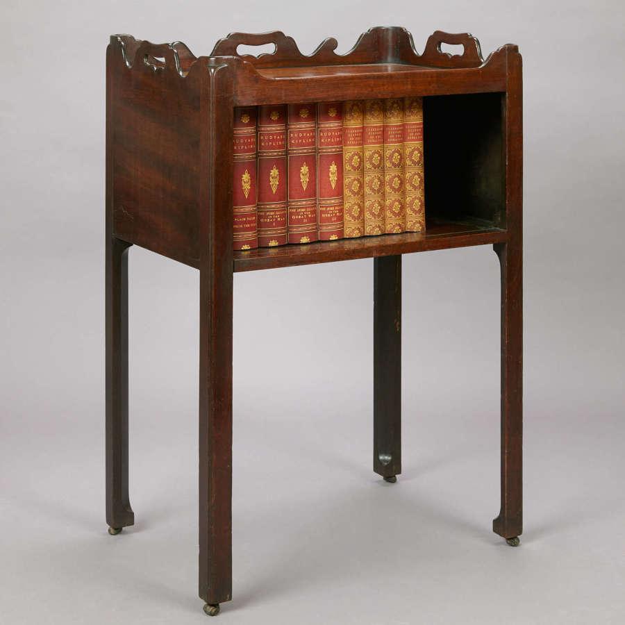 18th Century mahogany night commode