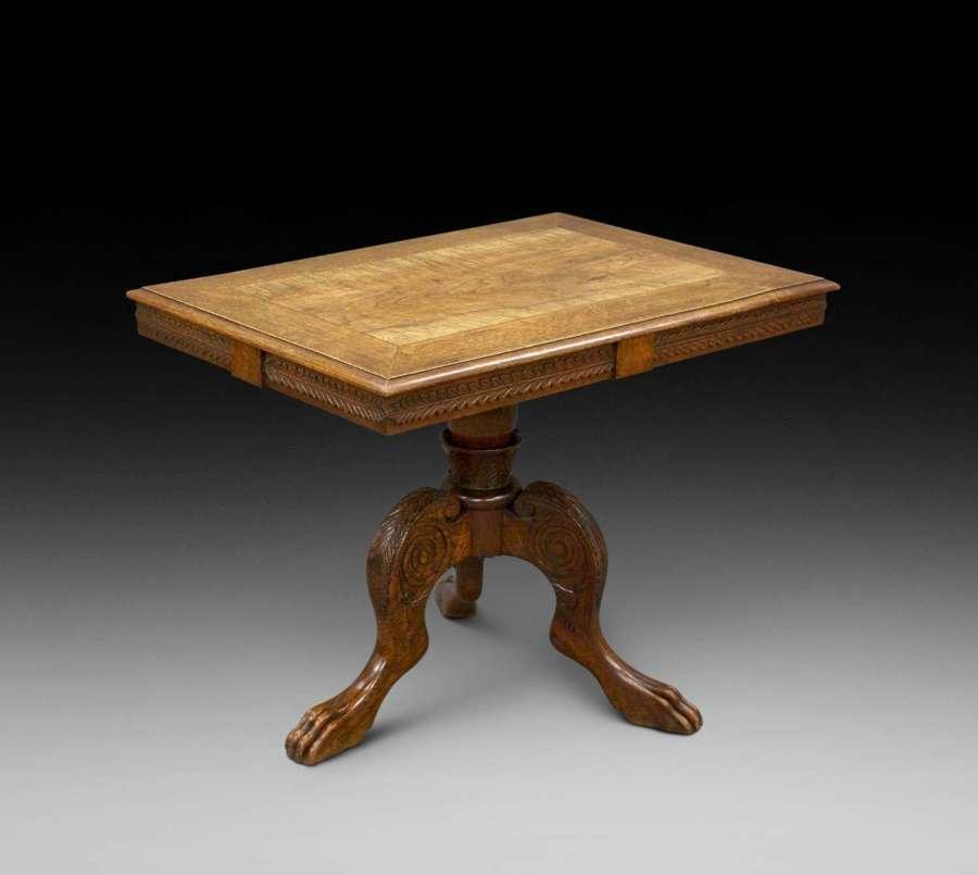 Unusual 19th Century oak & ash centre table
